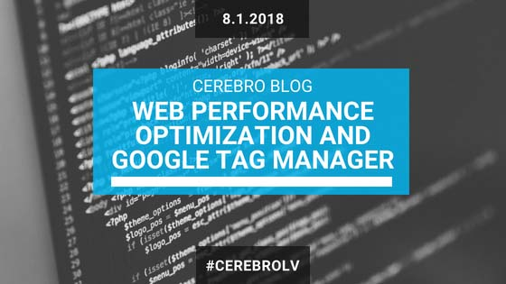 Web Performance Optimization and Google Tag Manager