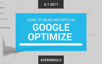 How To Read Reporting in Google Optimize