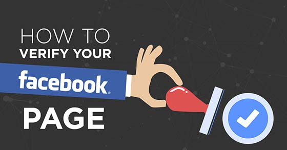 Verify your facebook page