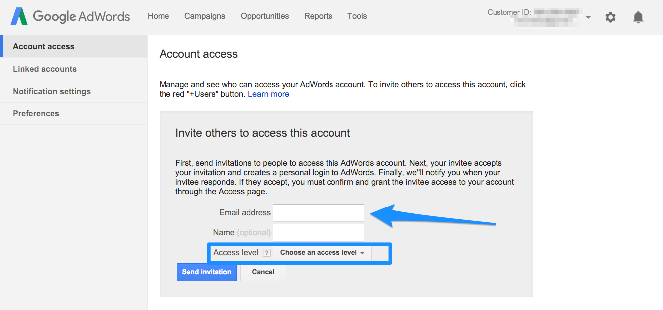 google-adwords-account-access-add-user